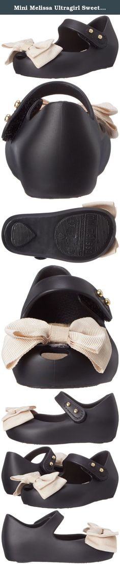 Mini Melissa Ultragirl Sweet Mary Jane Flat (Toddler). Mini Melissa Mini Melissa Mini Ultragirl Sweet (Toddler) - Black With the huge success of Melissa's whimsical and fashion forward jellies for almost 30 years now little fashionistas rejoice worldwide with Mini Melissa. Melissa brings the same focus on comfort and design to the Mini Melissa collection, with resemblance to some of its most iconic silhouettes and designs reflected in the Mini collection, these precious shoes will bring…