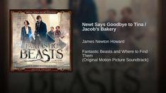 Newt Says Goodbye to Tina / Jacob's Bakery Soundtrack Music, Saying Goodbye, Fantastic Beasts And Where, To Youtube, Bakery, Sayings, Movie Posters, Lyrics, Film Poster