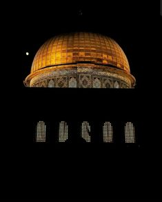 Palestine Art, Islamic Pictures, Islamic Art, Jerusalem, Mosque, Forgiveness Quotes, Ceiling Lights, Lighting, Bridal Dresses