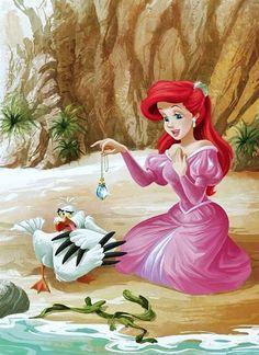 Ariel & Scuttle