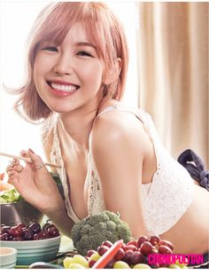 SECRET member Hyosung in Cosmopolitan Korea