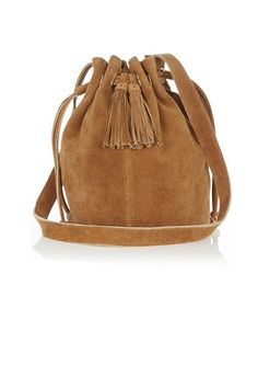 The 25 coolest handbags for SS15 - we love this Warehouse suede bag, £40.