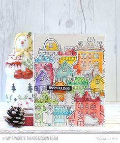 Winter Wonderland, Winter Wonderland Die-namics - Yoonsun Hur  #mftstamps