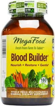 For my anemic friends and prenatal patients, so much easier to tolerate than iron pills. Gentle.  MegaFood Blood Builder