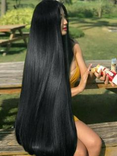 Best Picture For dark hair styles 2019 For Your Taste You are looking for something, and it is going Really Long Hair, Super Long Hair, Big Hair, Sleek Hairstyles, Straight Hairstyles, Indian Hairstyles, Pretty Hairstyles, Beautiful Long Hair, Gorgeous Hair
