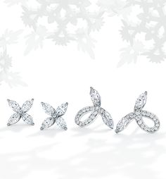 Making spirits bright. Diamond earrings are the epitome of understated elegance.