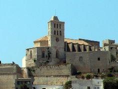 Catedral de Eivissa, Islas Baleares.