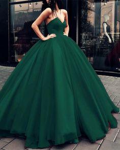 Dark-Green-Quinceanera-Dresses