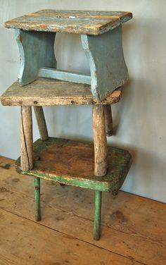Love 'em! (wow, green one has really skinny legs!) Franciskas Vakre Verden
