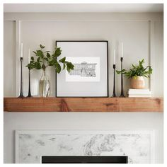 New Living Room Fixer Upper Mantels Ideas New Living Room, Home And Living, Living Room Decor, Fireplace Mantle, Mantle Art, Magnolia Homes, Home Decor Inspiration, Fixer Upper, Home Furniture