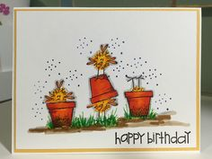 Scrapbooking and Cardmaking 101: Happy Birthday with Stamps by Judith and Heather