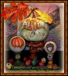 Autumn Bliss ePattern - Martha Smalley - PDF DOWNLOAD