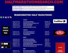 Washington half marathons, half marathon running events in Washington, Seattle half marathons, Spokane half marathons, Redmond half marathons, WA half marathons