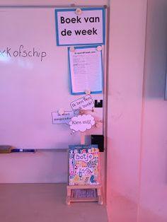 Deze week ben ik begonnen met 'Boek van de week'. Mijn doel is om leerlingen kennis te laten maken met verschillende tekstsoorten, genres e... Visible Learning, Fun Learning, Teaching Schools, Teacher Organization, Spelling, Van, Classroom, Writing, Reading