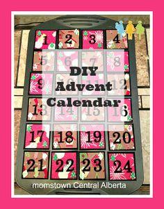 DIY Advent Calendar using muffin tins! #diy #christmas