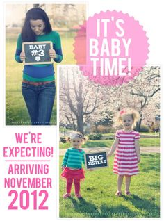 Our Were Expecting! Announcement.. using chalkboards. Baby #3 Hey everyone, Finally a solution that works! I saw this new weight loss product on TV and I have lost 26 pounds so far. Click the pinterest image to check it out!
