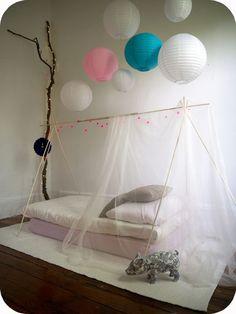 http://kidsmopolitan.com/luces-de-navidad-para-todo-el-ano/ iluminación de navidad en habitación infantil, kidsmopolitan decoración, niños, bebés, guirnaldas de luz