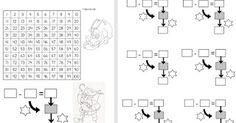 SAPOS Y CULEBRAS: FICHAS DE MATEMÁTICAS Diagram, Words, Horse