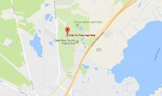 Tree To Tree Adventure Park is located in Cape May Court House, on the grounds of Cape May County Park. It is easily accessible from both the Garden State Parkway and Route 9.  Address: 707 Route 9, Cape May Court House