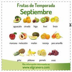 @Regrann from @elgranerointegral -  Ya tenéis disponible en la web que aparece en la BIO el calendario de #FRUTAS Y #VERDURAS de temporada de #septiembre. Podréis descargaros #GRATIS el pdf en alta calidad y ponerlo en vuestra nevera para tener siempre a mano los productos que incluir en la cesta de la #compra de este mes. #Vegan #OrganicRecipes #RecetasEcológicas #Organic #OrganicFood #Infographics #Infographic #Regrann #sanoysaludable #sanoyrico #sano #Salud #Saludable #pal #pale…