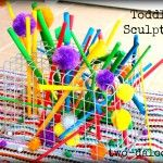 Toddler Wire Basket Sculpture  - repinned by @PediaStaff – Please Visit  ht.ly/63sNt for all our pediatric therapy pins