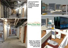 Mary Free Bed project underway in Lansing, Michigan, Feb. 2015