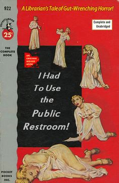 Very funny 1950's pulp book covers as professional development titles...:) Professional Library Literature : simplebooklet.com