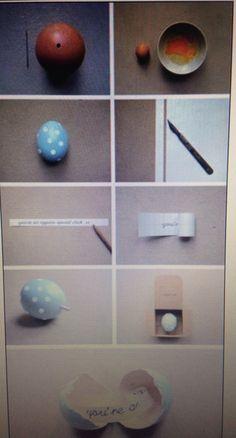 Una super idea para sorprender con tan solo un huevo