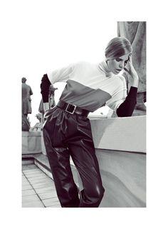 Marloes Horst Stars in the Harpers Bazaar Turkey September Cover Shoot by Koray Birand