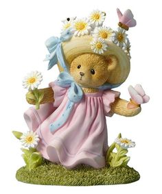 Look what I found on #zulily! Daisy & Butterfly Bear Cherished Teddies Figurine #zulilyfinds