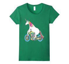 Unicorn Biker T-Shirt