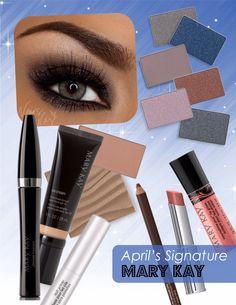 Michelle's April Signature Look!! #vegasbaby www.marykay.com/michellewalters
