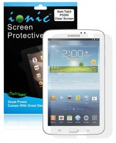 COD(TM) Screen Protector Film Clear (Invisible) for Samsung Galaxy Tab 3 7.0 (3-Pack)