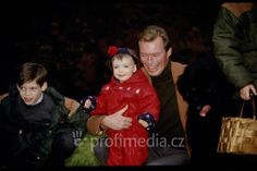 Grand Duke Henri with only daughter Princess Alexandra and 2nd son Prince Felix.