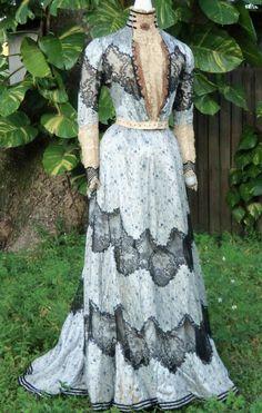 Edwardian Dress c.1903