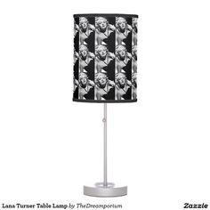 Lana Turner Table Lamp