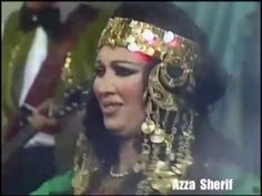 Egyptian Bellydance legend Azza Sherif performing Traditional Dance Tableaux Haggala with live band