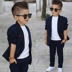 This Cool kids & boys mohawk haircut hairstyle ideas 40 image is part from 60 Awesome Cool Kids and Boys Mohawk Haircut Ideas gallery and article, click read it bellow to see high resolutions quality image and another awesome image ideas. Little Boy Outfits, Toddler Outfits, Baby Boy Outfits, Toddler Boy Fashion, Little Boy Fashion, Fashion Children, Toddler Girl, Girl Fashion, Young Boys Fashion
