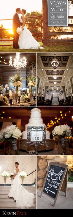 Vows that Wow wedding shot by Kevin Paul Photography.  Ceremony at The Mayo Hotel.