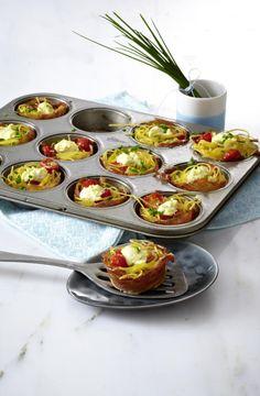 Unser beliebtes Rezept für Kleine Nudelnester mit Frischkäse, Tomaten und Schinken und mehr als 55.000 weitere kostenlose Rezepte auf LECKER.de.