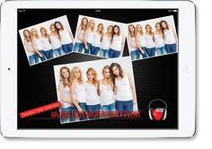OneTap PhotoBox – Professional Photobooth App for iPad Diy Photo Booth, Event Photographer, Polaroid Film, Ipad App, Cool Stuff, Projects, Log Projects