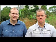 A word from Matt Damon for Water Day this week