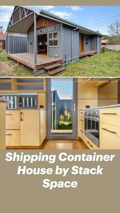 Shipping Container Home Designs, Container House Design, Small House Design, Shipping Container Houses, Shipping Containers, Dream Home Design, Building A Container Home, Container Buildings, Barn House Plans