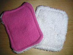 Faire des lingettes lavables et réutilisables !