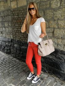 My Diary of Style: RED JEANS