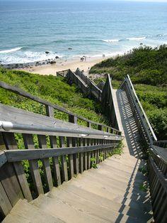 Block Island, RI. Mohegan Bluffs, Shipwrecks,  Breathtaking Beaches.