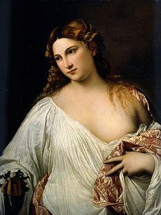 Tiziano - Flora