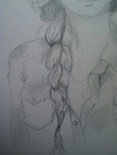 How to Draw a Braid(I am so drawing Katness)