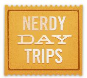 To provide a little insight on the wonderful nerdy things the world has to offer and to encourage a little vitamin D consumption, there's a beautiful site called NerdyDayTrips. It's a user-generated site using Google Maps to keep the debate about the level of each trip's nerdery levels going in perpetuity.