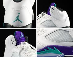 Air Jordan V Grape
